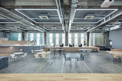 Multi-Level Work Spaces