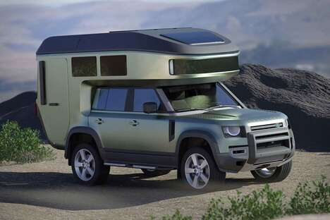 Chassis-Mounted SUV Campers