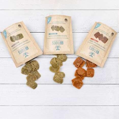 Seaweed Puff Snacks