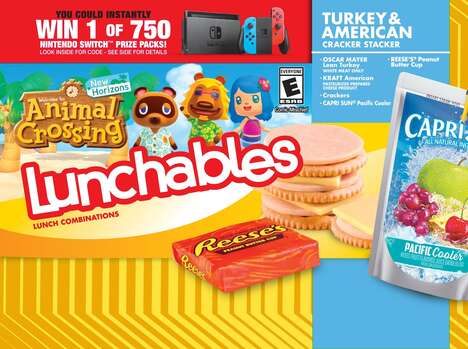 Game-Themed Lunch Kits