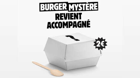 Mystery-Themed Burger Campaigns