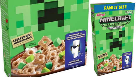 Video Game-inspired Cereal