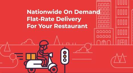 Flat-Rate Food Delivery Fees