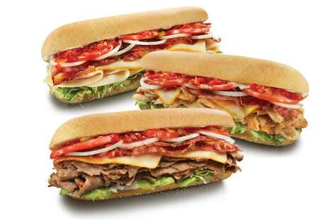 Hearty Muenster-Infused Sandwiches