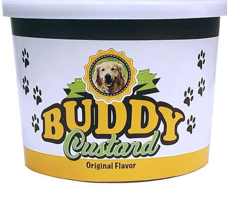 Custard-Inspired Dog Treats