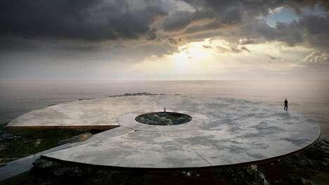 Circular Seaside Pandemic Memorials
