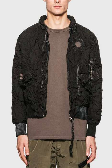 Airbag-Material Bomber Jackets