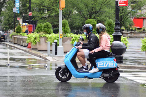 Updated Electric Moped Sharing