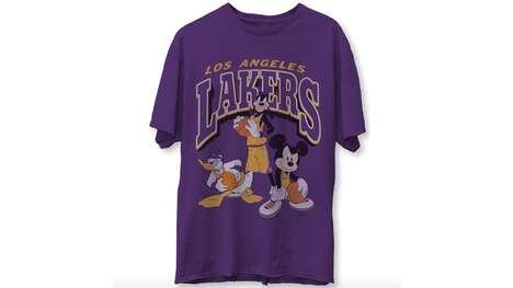 Nostalgic Disney Basketball Apparel