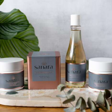 Plant-Based Bath-and-Body Collections