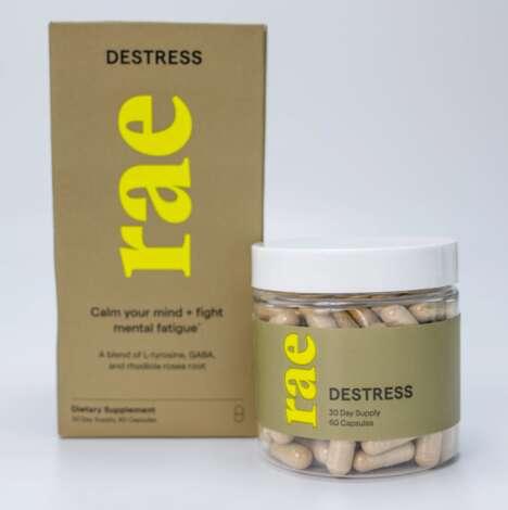 Natural Stress-Combating Supplements