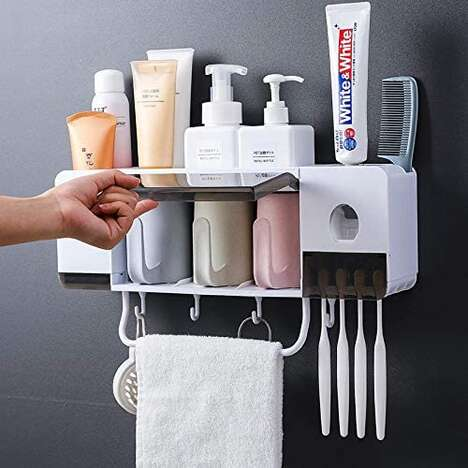 Convenient Bathroom Organizers