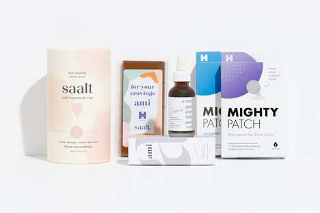 Curated Collaboration Menstruation Boxes