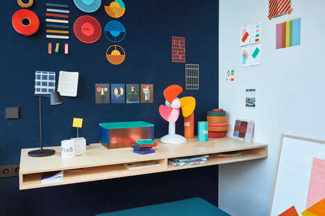 Corrugated Tiny Office Designs