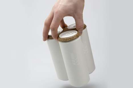 Spent Grain Beer Packaging