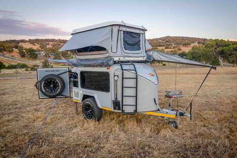 The Mobi Nomad 'Mobi X' Camping Trailer Offers Space for Six