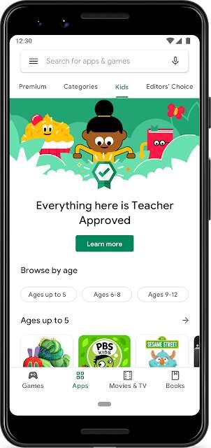 Kid-Friendly App Store Updates