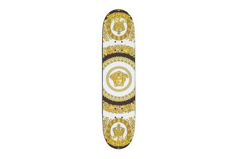 Luxe Golden Skateboard Decks