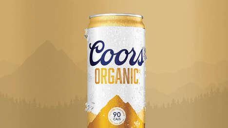 Low-Calorie Organic Beers