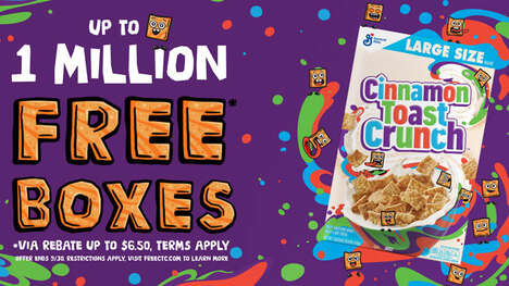 Complimentary Cereal Promotions