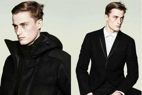Simplistic Stealth Minimal Fashion