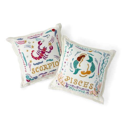 Handmade Cosmic-Inspired Pillows
