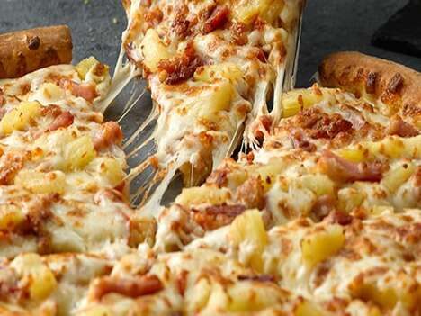 High-Quality Pineapple Pizzas