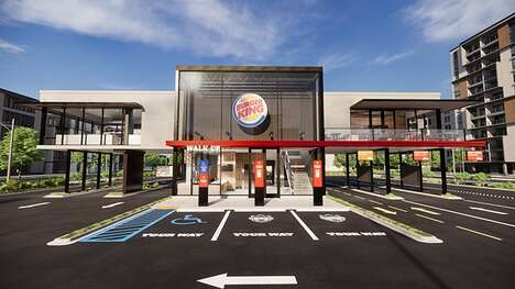 Touchless Fast Food Restaurants