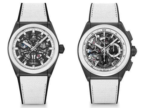 Demure Monochromatic Watches