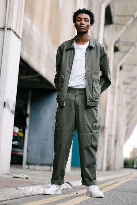 Utilitarian Simplistic Workwear Designs