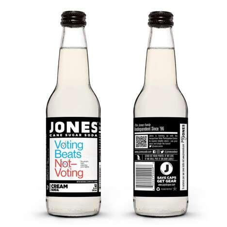 Voting Encouragement Soda Branding