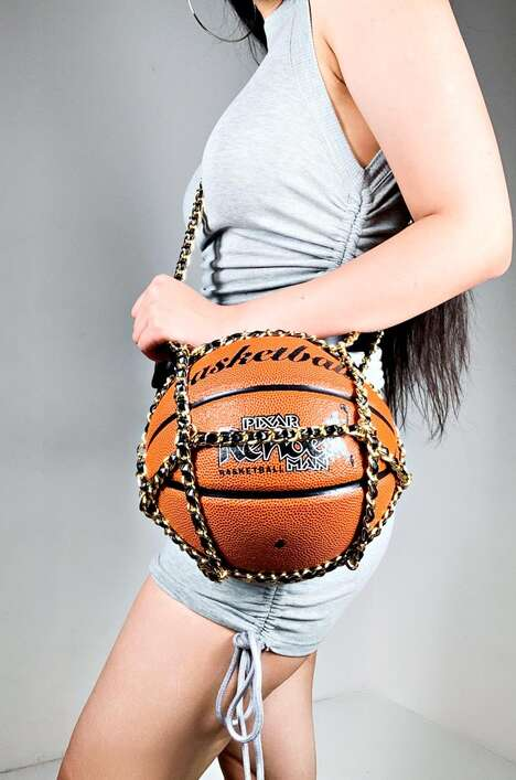Novelty Basketball Purses