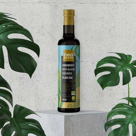 Plankton-Infused Olive Oils