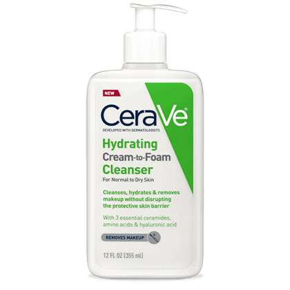 Hydrating Cream-to-Foam Cleansers