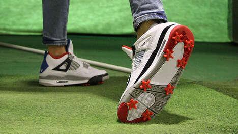 Golfer Footwear Attachments