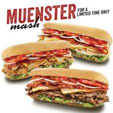 Loaded Muenster Cheese Sandwiches