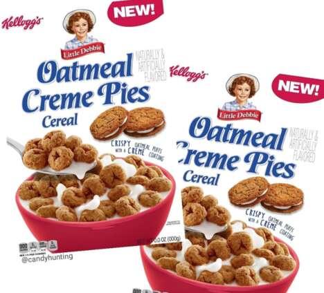 Sandwich Cookie Breakfast Cereals