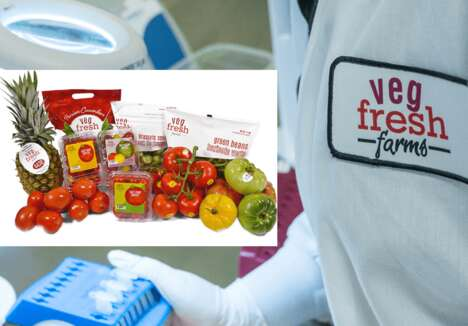 Anti-Microbial Fresh Produce Packaging