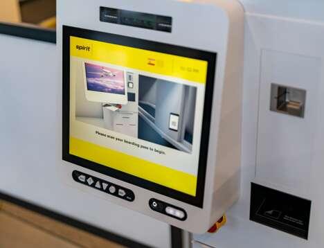Biometric Flight Check-Ins