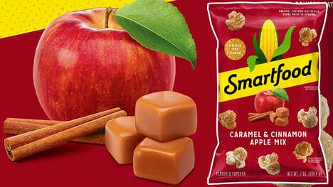 Caramel Apple Popcorn Snacks