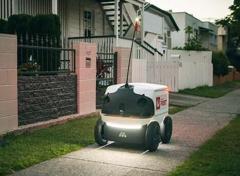 Automated Parcel Delivery Robots