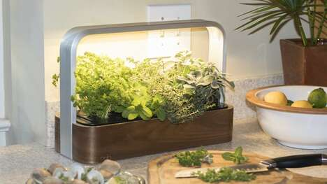 App-Connected Countertop Gardens