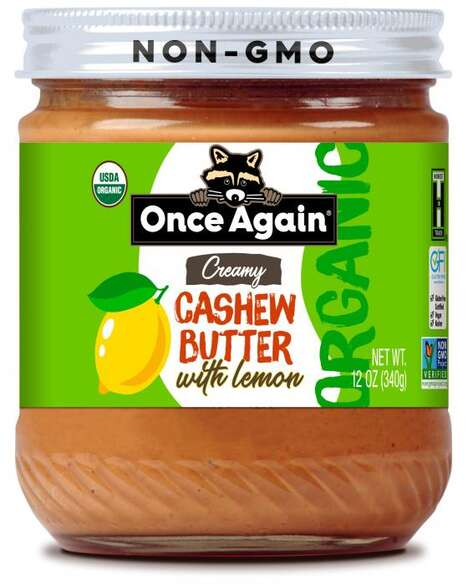 Citrusy Cashew Nut Butters