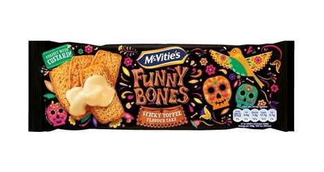 Halloween-Themed Prepackaged Cakes