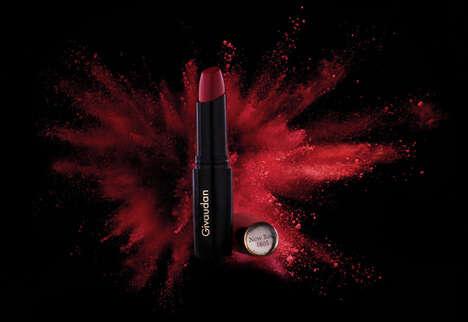 Vibrant Red Vegan Lipsticks