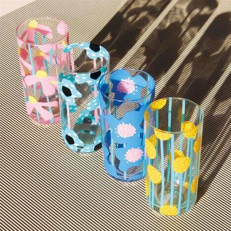 Artfully Printed Glassware