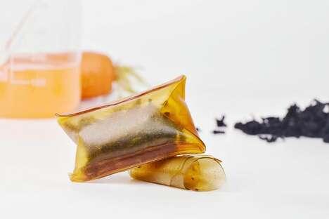 Edible Seaweed Food Packaging