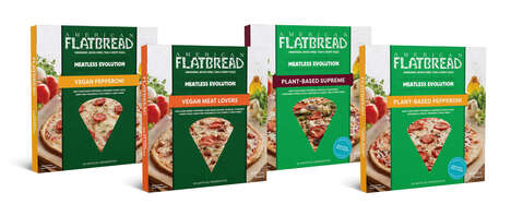 Plant-Based Flash-Frozen Pizzas