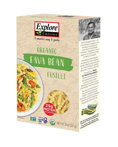 Fava Bean-Based Pastas
