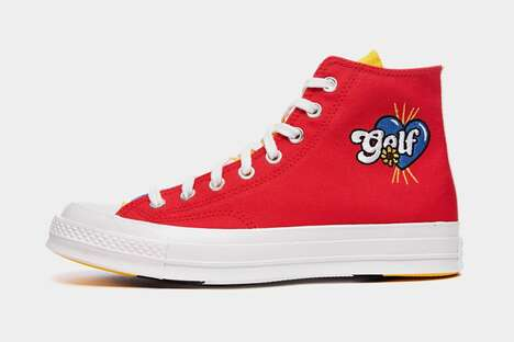 Colorful Lighthearted Joint Sneakers